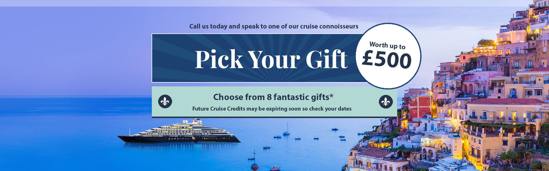 Panache Cruises, Elite Ocean, River, Expedition and Yacht-Style Cruising